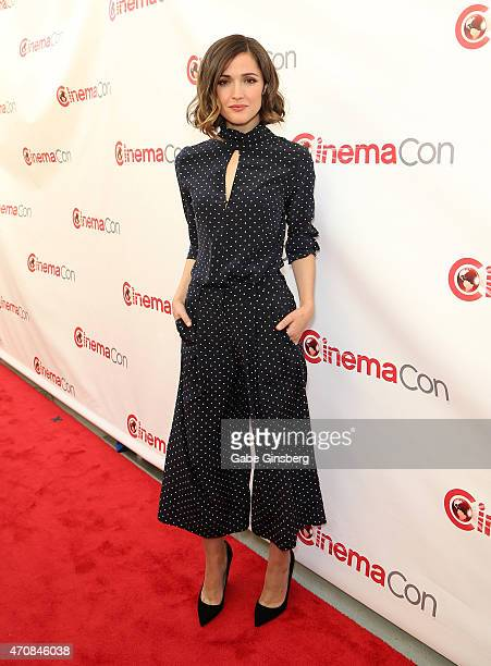Actress Rose Byrne attends 20th Century Fox Presentation during 2015 CinemaCon at The Colosseum at Caesars Palace on April 23 2015 in Las Vegas Nevada