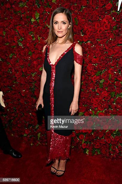 Actress Rose Byrne attends 70th Annual Tony Awards Arrivals at Beacon Theatre on June 12 2016 in New York City