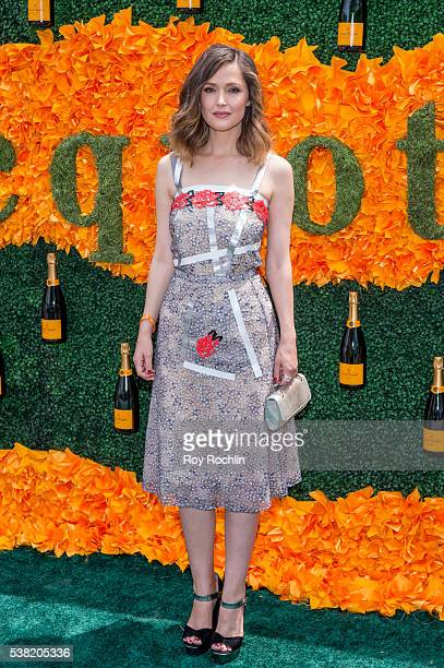 Actress Rose Byrne attends 9th Annual Veuve Clicquot Polo Classic at Liberty State Park on June 4 2016 in Jersey City New Jersey