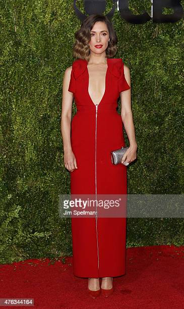 Actress Rose Byrne attends American Theatre Wing's 69th Annual Tony Awards at Radio City Music Hall on June 7 2015 in New York City