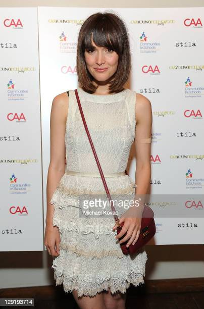 Actress Rose Byrne attends CAA's Young Hollywood Party benefiting Communities In Schools at The Colony on October 13 2011 in Los Angeles California
