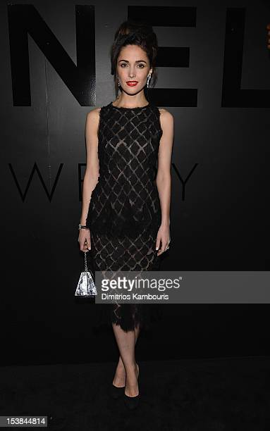 Actress Rose Byrne attends Chanel Bijoux de Diamant 80th Anniversary on October 9 2012 in New York City