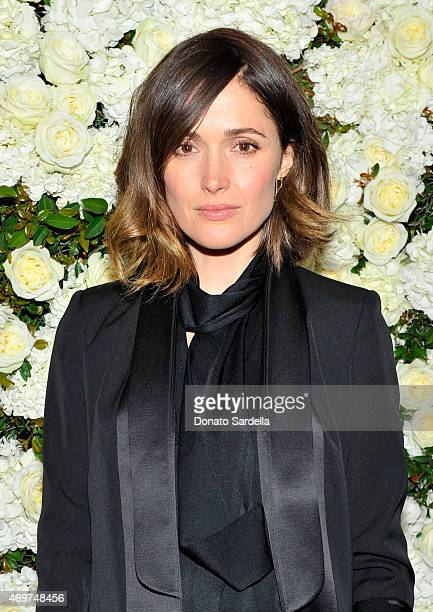 Actress Rose Byrne attends David And Victoria Beckham Along With Barneys New York Host A Dinner To Celebrate The Victoria Beckham Collection at...