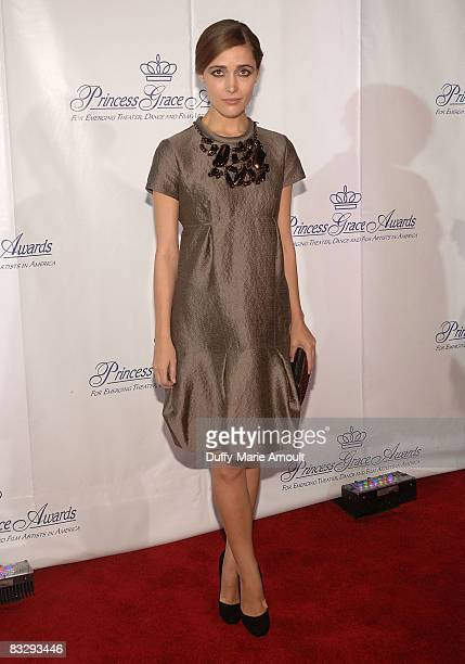 Actress Rose Byrne attends the 2008 Princess Grace awards gala at Cipriani 42nd Street on October 15 2008 in New York City