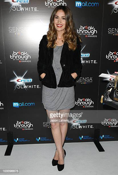 Actress Rose Byrne attends the 2010 Breakthrough of the Year Awards at Pacific Design Center on August 15 2010 in West Hollywood California