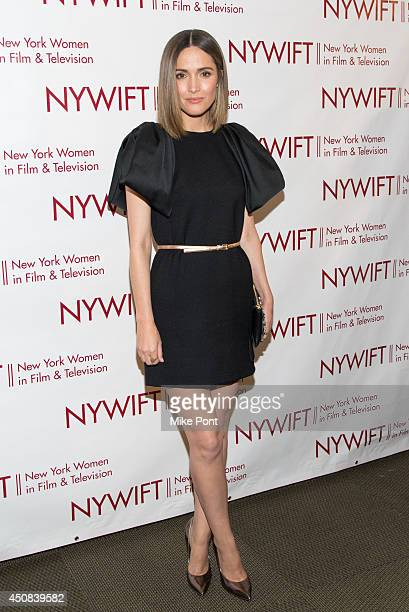 Actress Rose Byrne attends the 2014 New York Women In Film And Television Awards Gala at McGraw Hill Building on June 18 2014 in New York City