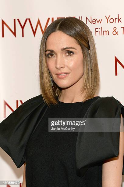 """Actress Rose Byrne attends the 2014 New York Women In Film And Television """"Designing Women"""" Awards Gala at McGraw Hill Building on June 18, 2014 in..."""