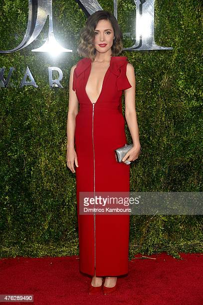 Actress Rose Byrne attends the 2015 Tony Awards at Radio City Music Hall on June 7, 2015 in New York City.