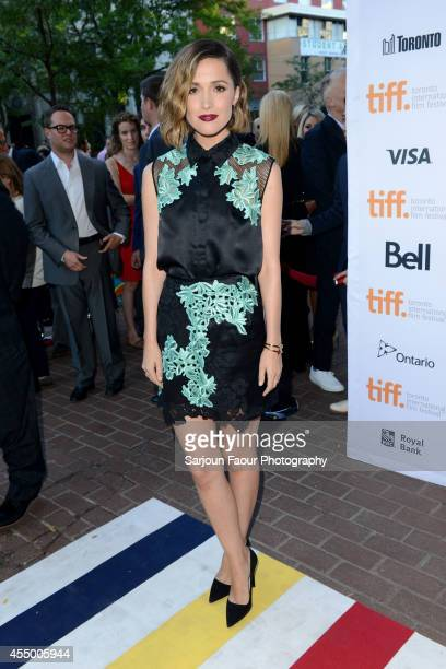 Actress Rose Byrne attends the Adult Beginners premiere during the 2014 Toronto International Film Festival at Ryerson Theatre on September 8 2014 in...
