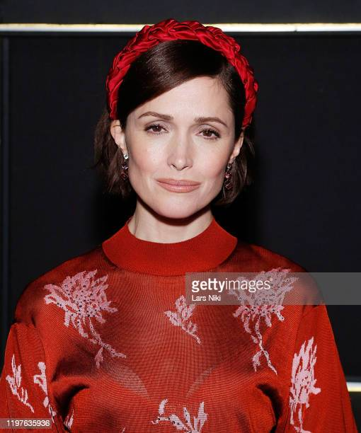 "Actress Rose Byrne attends the BAM opening night after party for ""Medea"" at Public Records on January 30, 2020 in New York City."