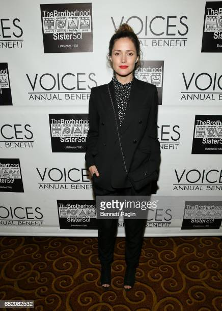 Actress Rose Byrne attends the Brotherhood/Sister Sol 2017 Gala at Gotham Hall on May 11 2017 in New York City