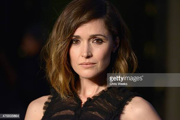 Actress Rose Byrne attends the Burberry London in Los Angeles event at Griffith Observatory on April 16 2015 in Los Angeles California