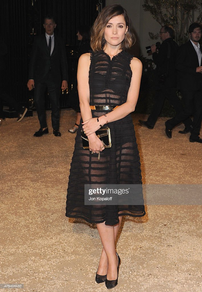 Actress Rose Byrne attends the Burberry 'London in Los Angeles' event at Griffith Observatory on April 16, 2015 in Los Angeles, California.