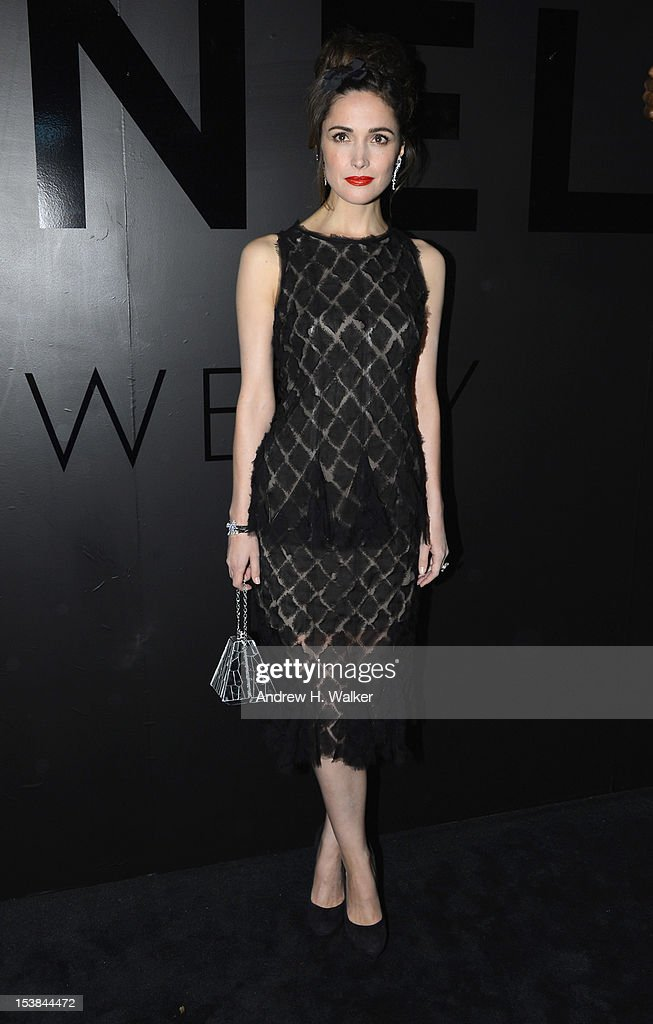 Actress Rose Byrne attends the celebration of CHANEL FINE JEWELRY'S 80th anniversary of the 'Bijoux De Diamants' collection created by Gabrielle Chanel on October 9, 2012 in New York City.