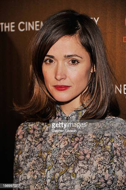 Actress Rose Byrne attends The Cinema Society with Men's Health and DeLeon hosted screening of The Weinstein Company's 'Killing Them Softly' on...