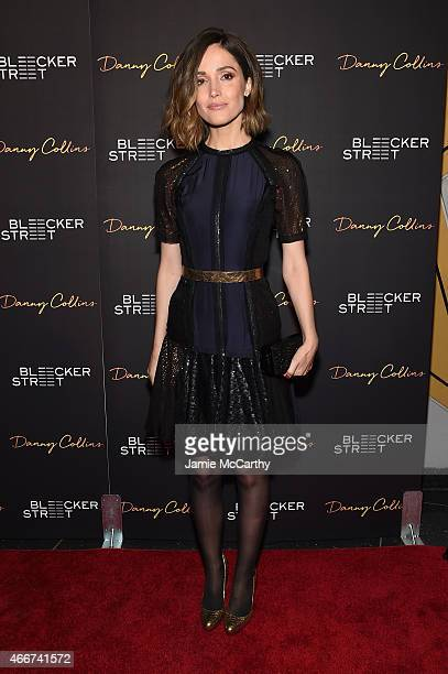 Actress Rose Byrne attends the Danny Collins New York premiere at AMC Lincoln Square Theater on March 18 2015 in New York City