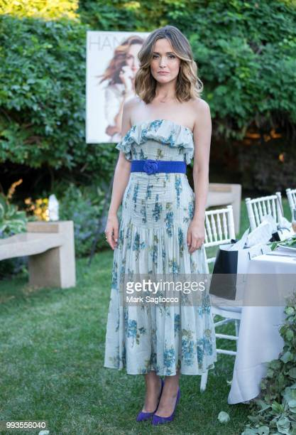 Actress Rose Byrne attends the Hamptons Magazine Cover Star Rose Byrne Celebration Presented By Lalique Along With Maddox Gallery at Southampton...