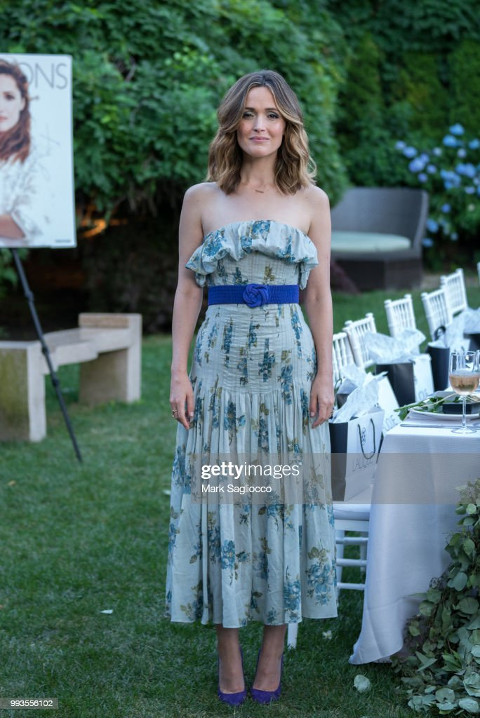 Hamptons Magazine Celebrates Cover Star Rose Byrne Presented By Lalique Along With Maddox Gallery