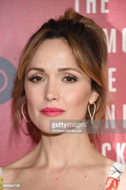 Actress Rose Byrne attends The Immortal Life of Henrietta Lacks premiere at SVA Theater on April 18 2017 in New York City