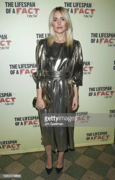 Actress Rose Byrne attends The Lifespan of a Fact opening night at Studio 54 on October 18 2018 in New York City