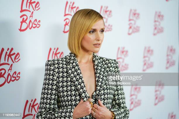 Actress Rose Byrne attends the Like A Boss Photo Call at the Whitby Hotel on December 14 2019 in New York City