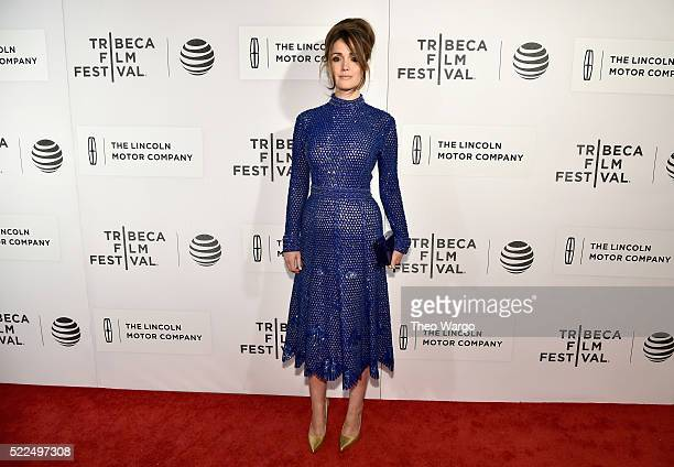 Actress Rose Byrne attends The Meddler Premiere during the 2016 Tribeca Film Festival at BMCC John Zuccotti Theater on April 19 2016 in New York City