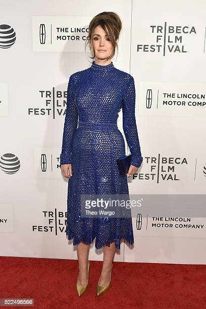 """Actress Rose Byrne attends """"The Meddler"""" Premiere during the 2016 Tribeca Film Festival at BMCC John Zuccotti Theater on April 19, 2016 in New York..."""