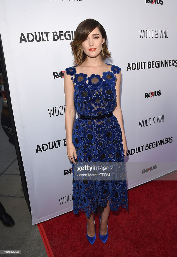 Actress Rose Byrne attends the premiere of 'Adult Beginners' at ArcLight Hollywood on April 15, 2015 in Hollywood, California.