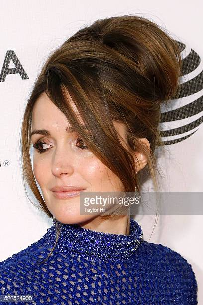 """Actress Rose Byrne attends the premiere of """"The Meddler"""" at Borough of Manhattan Community College during the 2016 TriBeCa Film Festival on April 19,..."""