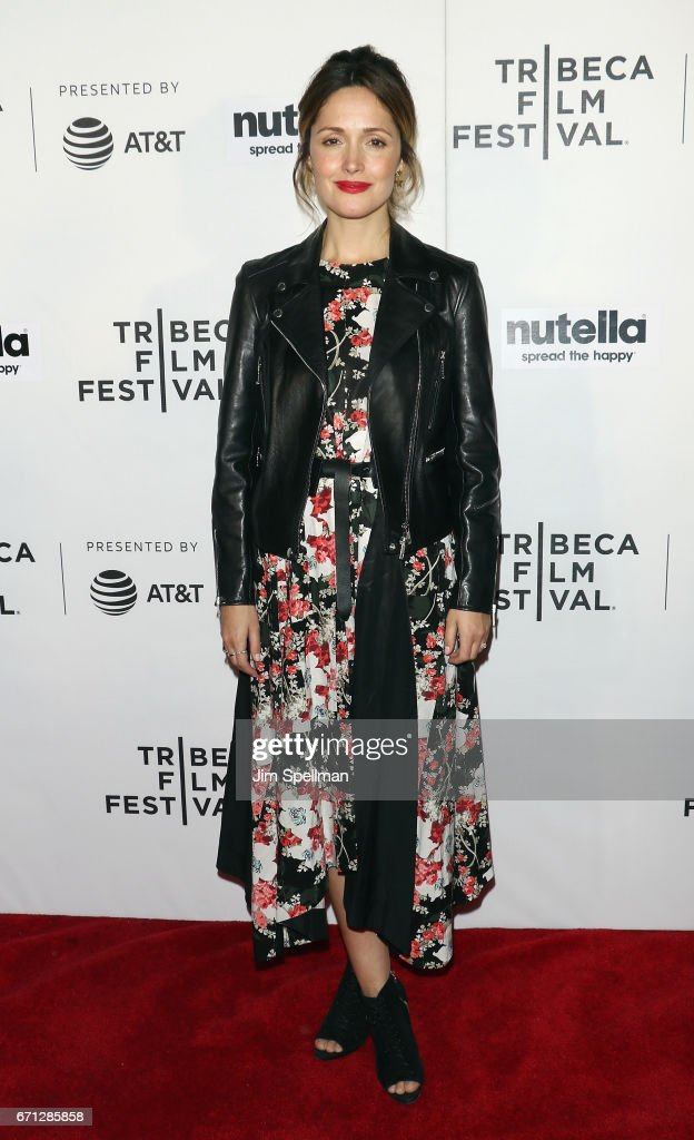 Actress Rose Byrne attends the Shorts Program: New York - Group Therapy during the 2017 Tribeca Film Festival at Regal Battery Park Cinemas on April 21, 2017 in New York City.