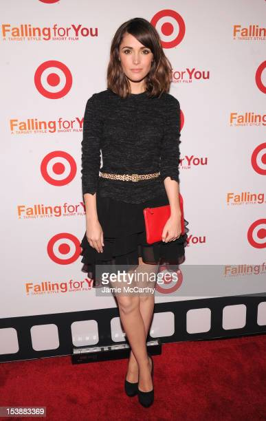 Actress Rose Byrne attends the Target Falling for You NY event at Terminal 5 on October 10 2012 in New York City