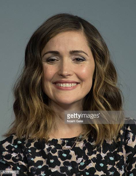 """Actress Rose Byrne attends the """"The Meddler"""" panel at Apple Store Soho on April 20, 2016 in New York City."""