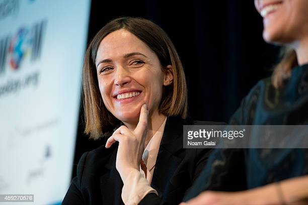 Actress Rose Byrne attends the United Nations 2014 Women's Entrepreneurship Day at United Nations on November 19 2014 in New York City