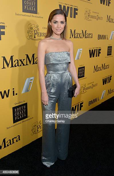 Actress Rose Byrne attends Women In Film 2014 Crystal Lucy Awards presented by MaxMara BMW PerrierJouet and South Coast Plaza held at the Hyatt...