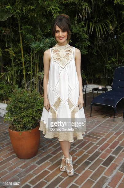 Actress Rose Byrne attends Zimmermann 2011 Resort Collection Dinner at the Chateau Marmont on July 14 2011 in Los Angeles California