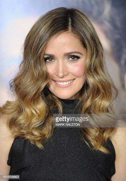 Actress Rose Byrne poses on the red carpet as she arrives for the premiere of the comedy movie Get Him to the Greek from Universal Pictures at the...
