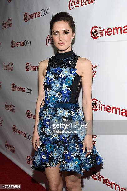 Actress Rose Byrne recipient of the Female Star of the Year Award attends The CinemaCon Big Screen Achievement Awards brought to you by The CocaCola...