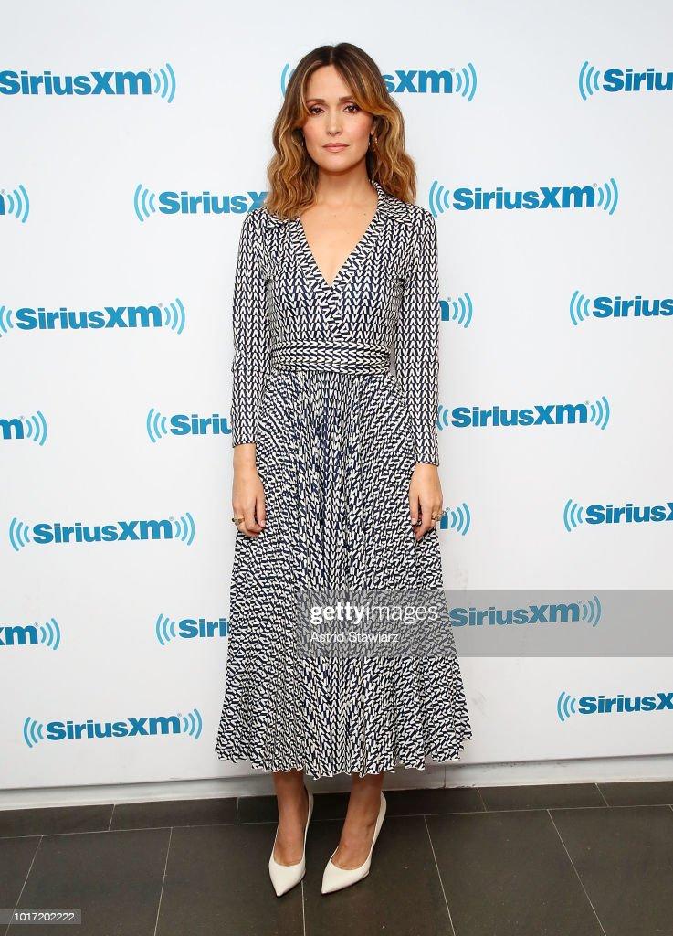 Celebrities Visit SiriusXM - August 15, 2018