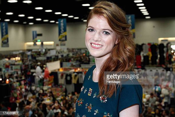 Actress Rose Leslie attends HBO's 'Game Of Thrones' cast autograph signing at San Diego Convention Center on July 19 2013 in San Diego California
