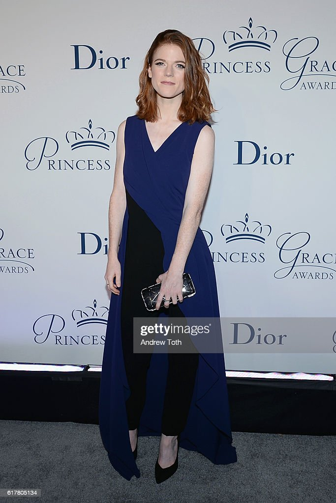 Actress Rose Leslie attends the 2016 Princess Grace Awards Gala with presenting sponsor Christian Dior Couture at Cipriani 25 Broadway on October 24, 2016 in New York City.