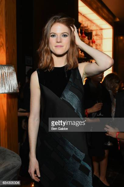 Actress Rose Leslie attends 'The Good Fight' World Premiere After Party at Jazz at Lincoln Center on February 8 2017 in New York City