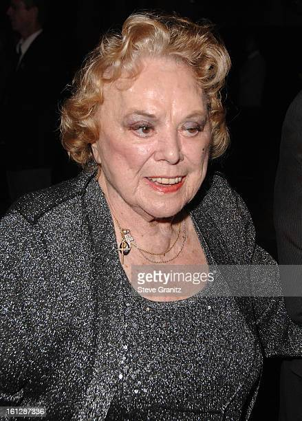 Actress Rose Marie arrives at a special screening for DreamWorks Pictures' 'Sweeney Todd' at the Paramount Theater on December 5 2007 in Los Angeles...