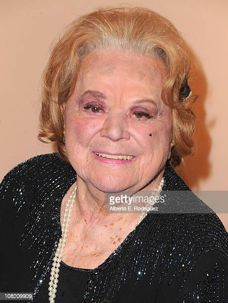 Actress Rose Marie arrives to the Academy of Television Arts Sciences' Hall of Fame Committe's 20th Annual Induction Gala on January 20 2011 in...