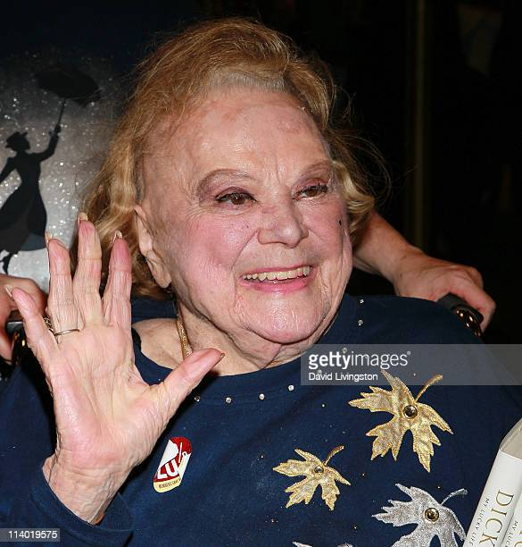 Actress Rose Marie attends a signing for Dick Van Dyke's book 'My Lucky Life In and Out of Show Business' at Barnes Noble Booksellers at The Grove on...