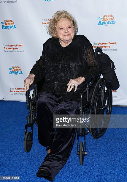 Actress Rose Marie attends the The Actors Fund's 2015 Looking Ahead Awards at Taglyan Cultural Complex on December 3 2015 in Hollywood California