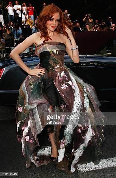 Actress Rose McGowan arrives at amfAR's Cinema Against AIDS 2008 benefit held at Le Moulin de Mougins during the 61st International Cannes Film...