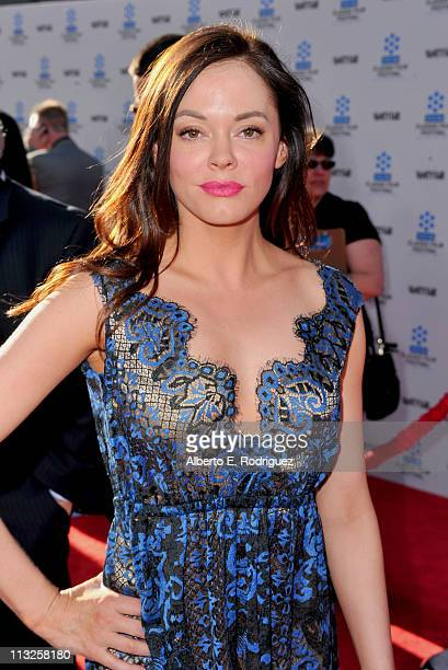 Actress Rose McGowan arrives at TCM Classic Film Festival Opening Night Gala and World Premiere of An American In Paris at the Grauman's Chinese...