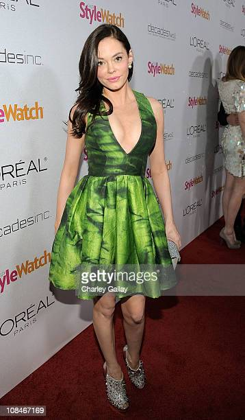 Actress Rose McGowan arrives to 'A Night Of Red Carpet Style' hosted by People StyleWatch at Decades on January 27, 2011 in Los Angeles, California.