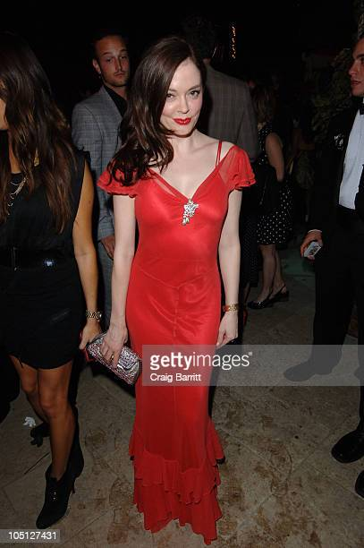 Actress Rose McGowan attends An Evening Affair presented by Night Vision at a private residence on October 9 2010 in Beverly Hills California