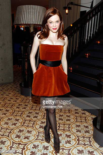 Actress Rose McGowan attends Art of Elysium's Pieces Of Heaven presented by Vanity Fair and BMW held at Palihouse Holloway on March 4 2010 in Los...